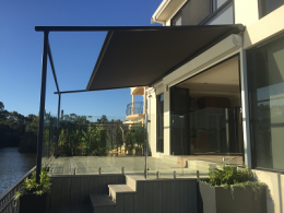 Retractable All Weather Sun Shades